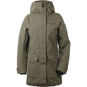 Didriksons 1913 Frida 3 Parka Dames, crocodile green